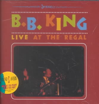 LIVE AT THE REGAL BY KING,B.B. (CD)
